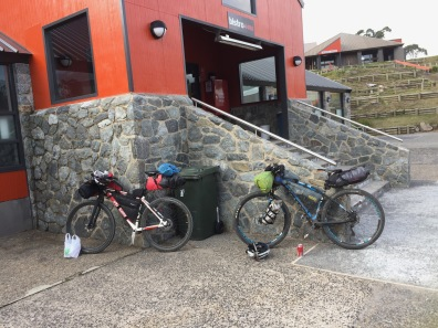 Surly service at Bistro 1488, but the feed was hearty and inexpensive.